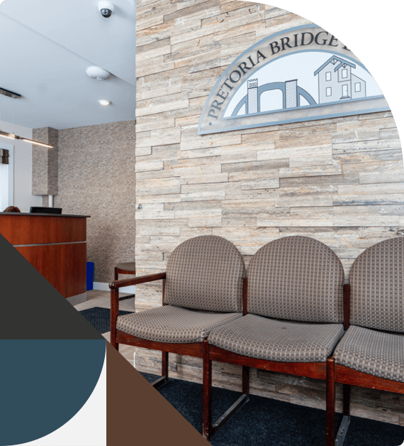 Inside Pretoria Bridge Dental's comfortable and modern offices
