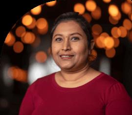 Qudsia Aziz, an assistant at Pretoria Bridge Dental