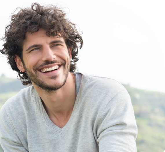 A smiling patient of pretoria bridge dental